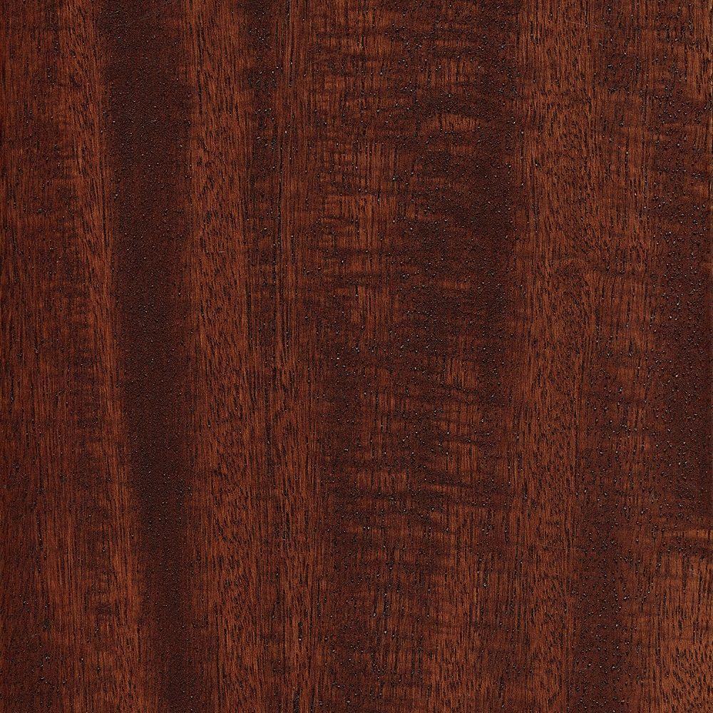Take Home Sample - Matte Brazilian Oak 3/8 in. Thick Click Lock Exotic Hardwood Flooring - 5 in. x 7 in.