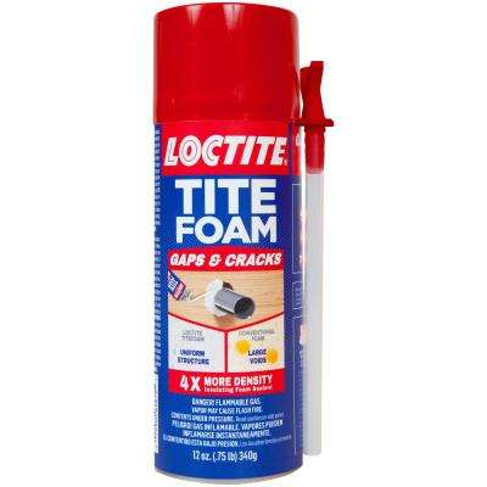 Tite Foam Gaps and Cracks 12 fl. oz. Insulating Foam (12-Pack)