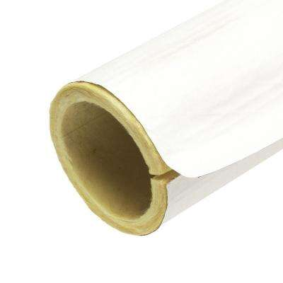 3 in. x 3 ft. Fiberglass Self-Sealing Pre-Slit Pipe Cover