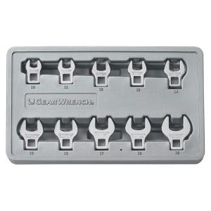 GearWrench Metric Crowfoot Wrench Set (10-Piece) by GearWrench