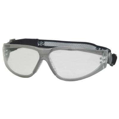 Sport Boas Eye Protection, Gray Frame/Clear Anti-Fog Lens
