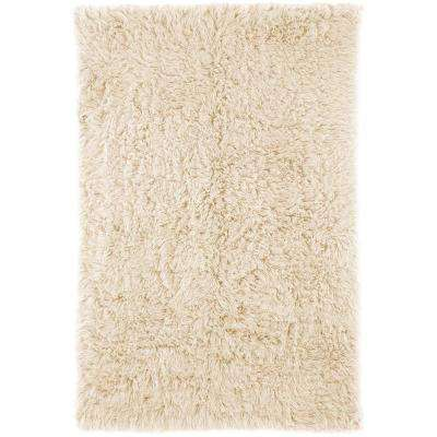 Genuine Greek Flokati Natural 2 ft. x 3 ft. Accent Rug
