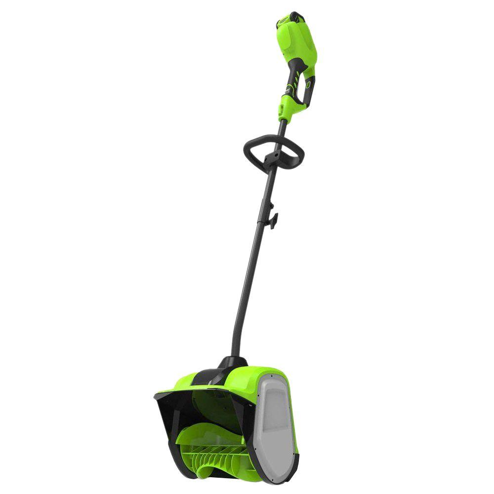 Greenworks Digi-Pro GMAX 12 in. 40-Volt Cordless Electric Snow Blower Shovel - Battery and Charger Not Included
