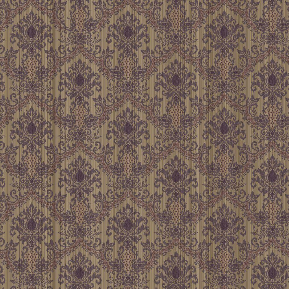 The Wallpaper Company 8 in. x 10 in. Bedazzled Mini Red/Purple Wallpaper Sample-DISCONTINUED
