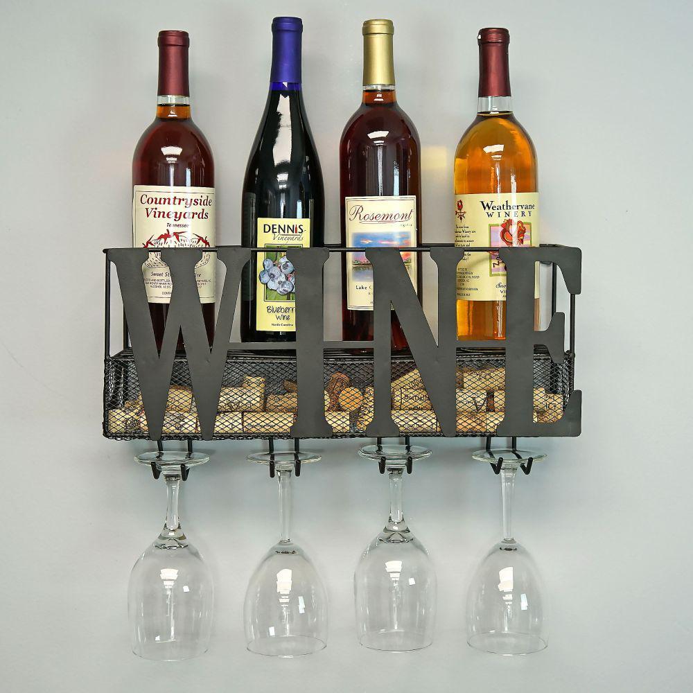 0c4dc1f834 Southern Homewares Wine Holder Rack SH-HD-10228 - The Home Depot