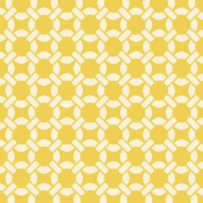 Berkley Weave Wall Painting Stencil - Production Size (33 in. x 32 in.)
