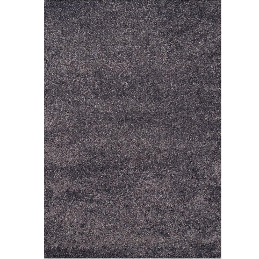 Sams International Comfort Shag Slate Blue 5 ft. 3 in. x 7 ft. 6 in. Area Rug