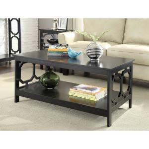 Wonderful Internet #302768731. Convenience Concepts Omega Black Coffee Table