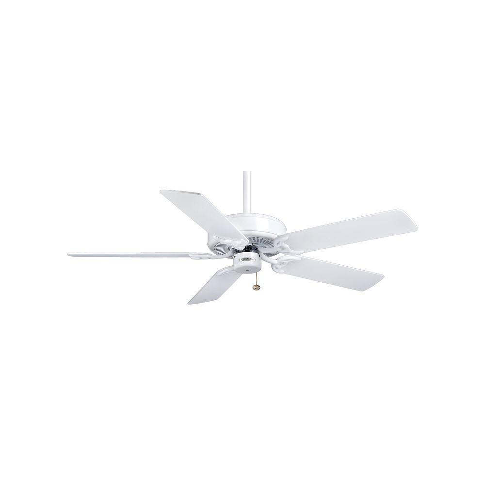 Casablanca Four Seasons III 52 in. Snow White Ceiling Fan-DISCONTINUED