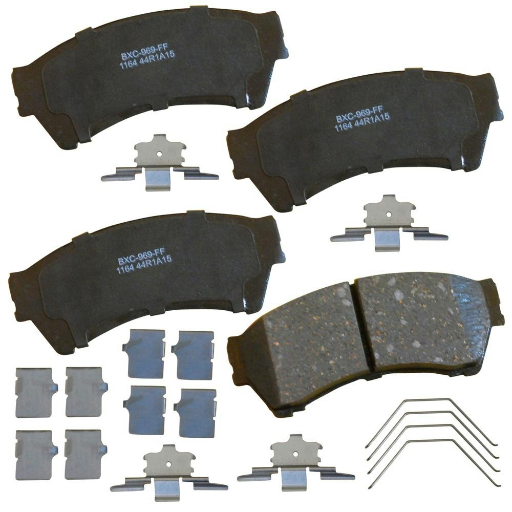 bendix stop ceramic disc brake pad frontsbc1164 the