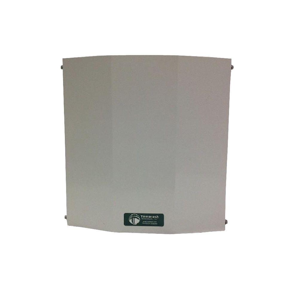 Battic Door Energy Conservation Products 416 CFM Power Wall Mount Garage Vent