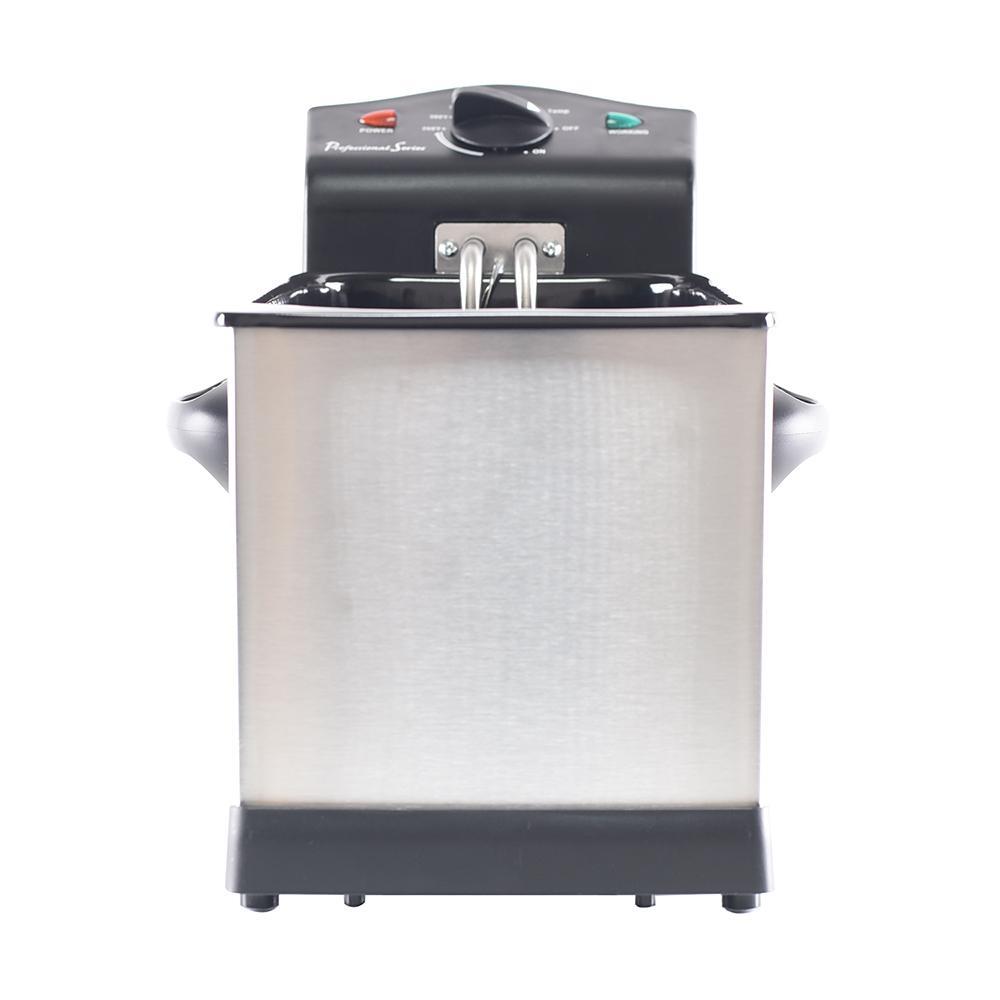 Professional 3-Liter Series Stainless Steel Deep Fryer