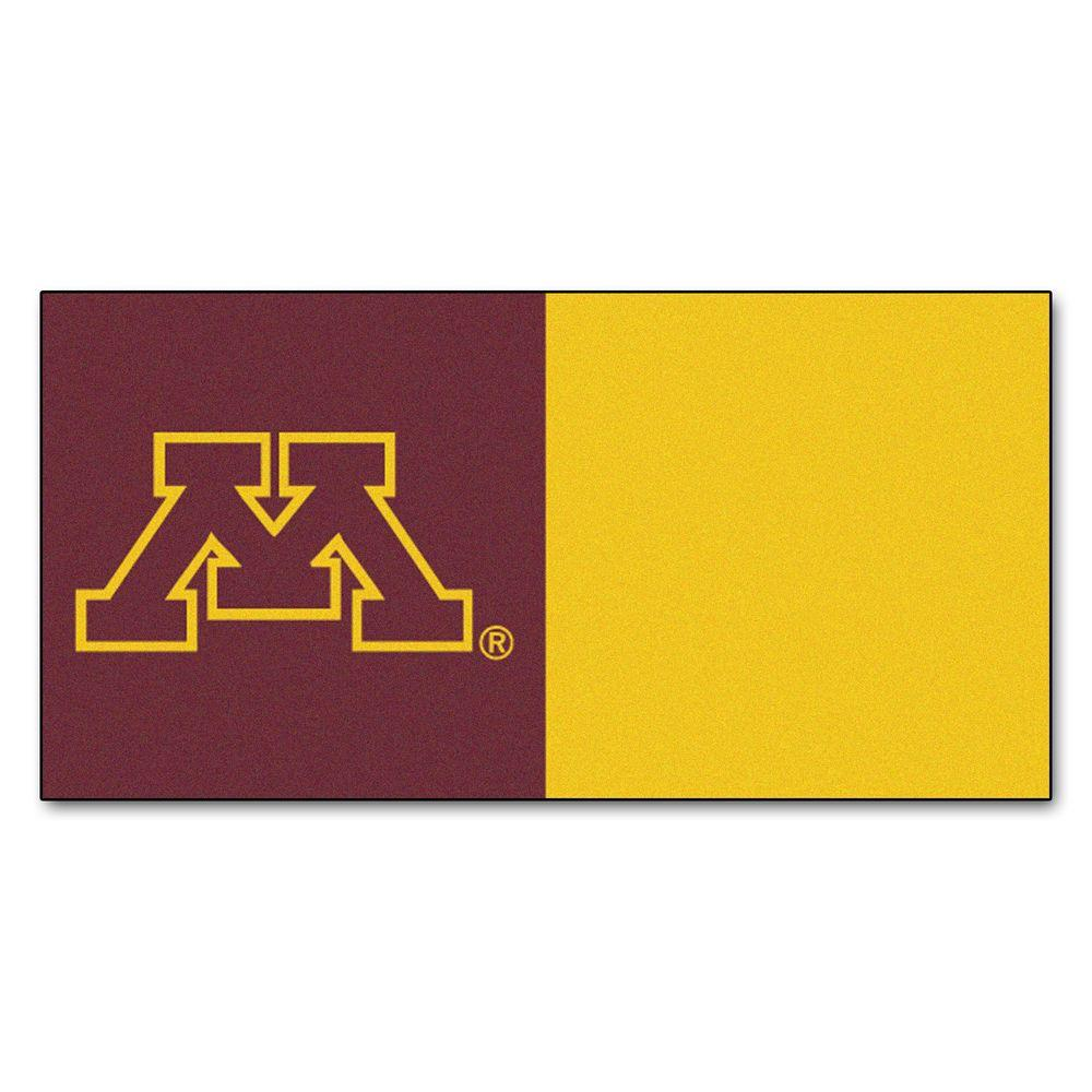 Fanmats Ncaa University Of Minnesota Maroon And Gold