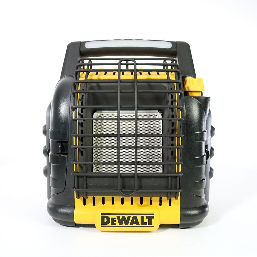 DeWalt DEWALT 12,000 BTU Portable Radiant Propane Heater, Multi