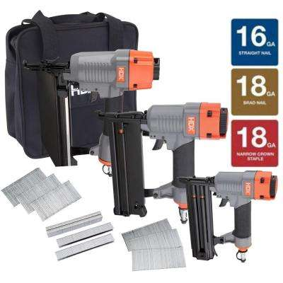 Nailer Kit with Canvas Bag (3-Piece)