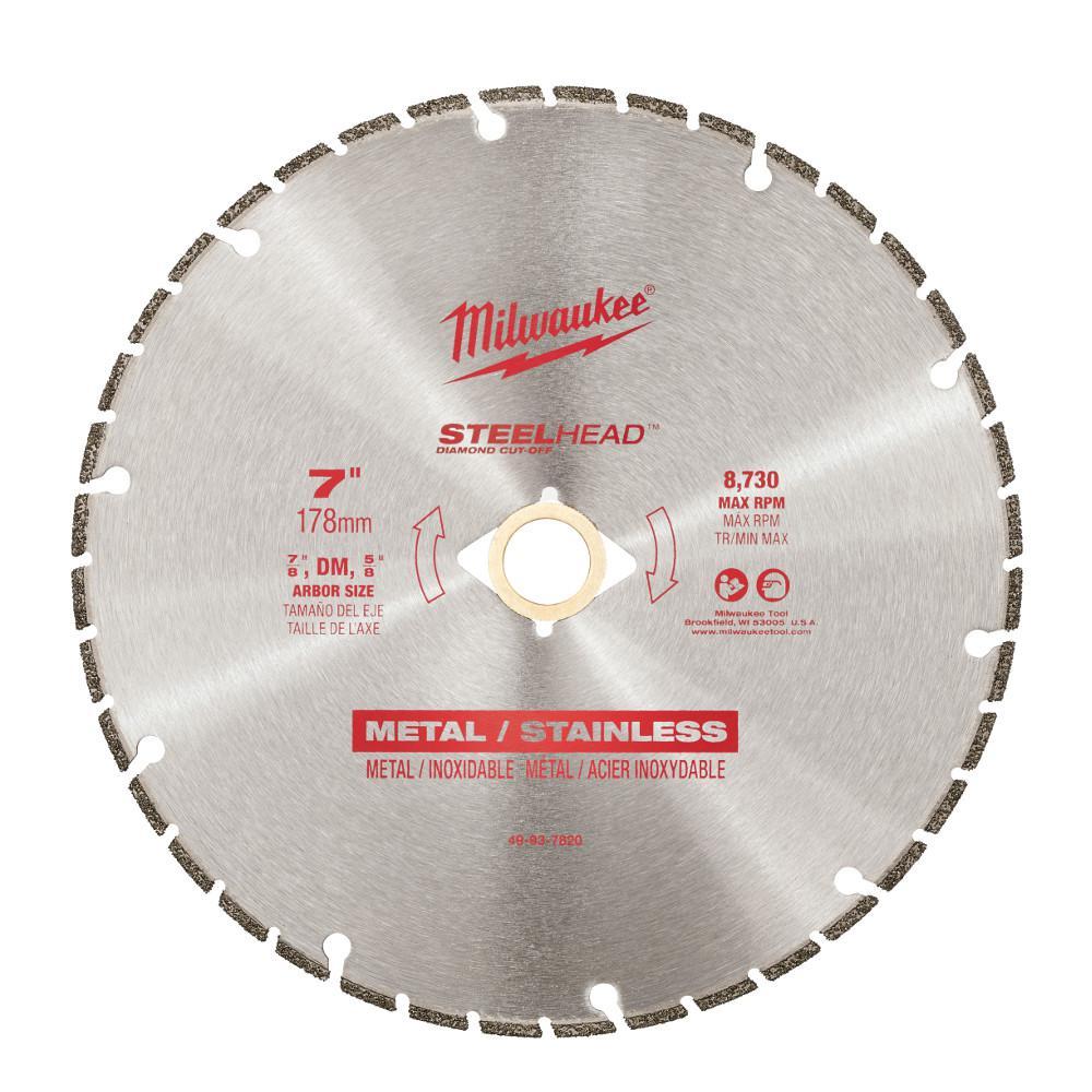 7 in. Steelhead Diamond Cut Off Blade