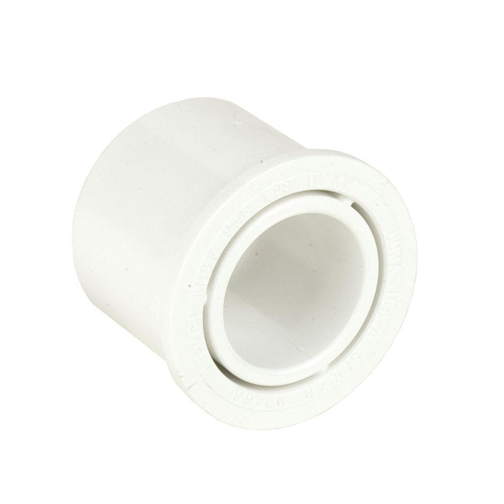 12 in. x 6 in. Schedule 40 PVC Reducer Bushing SPGxS