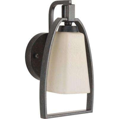 Ridge Collection 1-Light Espresso Sconce