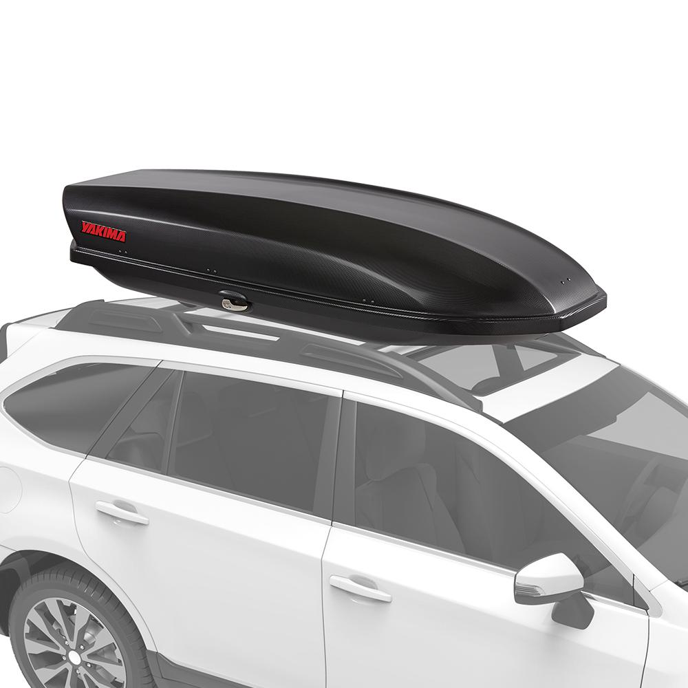 Yakima Skybox 16 Carbonite Locking Water Resistant Rooftop Cargo Box 8007335 The Home Depot