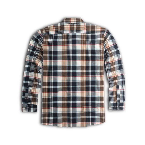 Walls Outdoor Goods Men S Longhorn Midweight Brushed Flannel Stretch Work Shirt Yl860mhm M The Home Depot