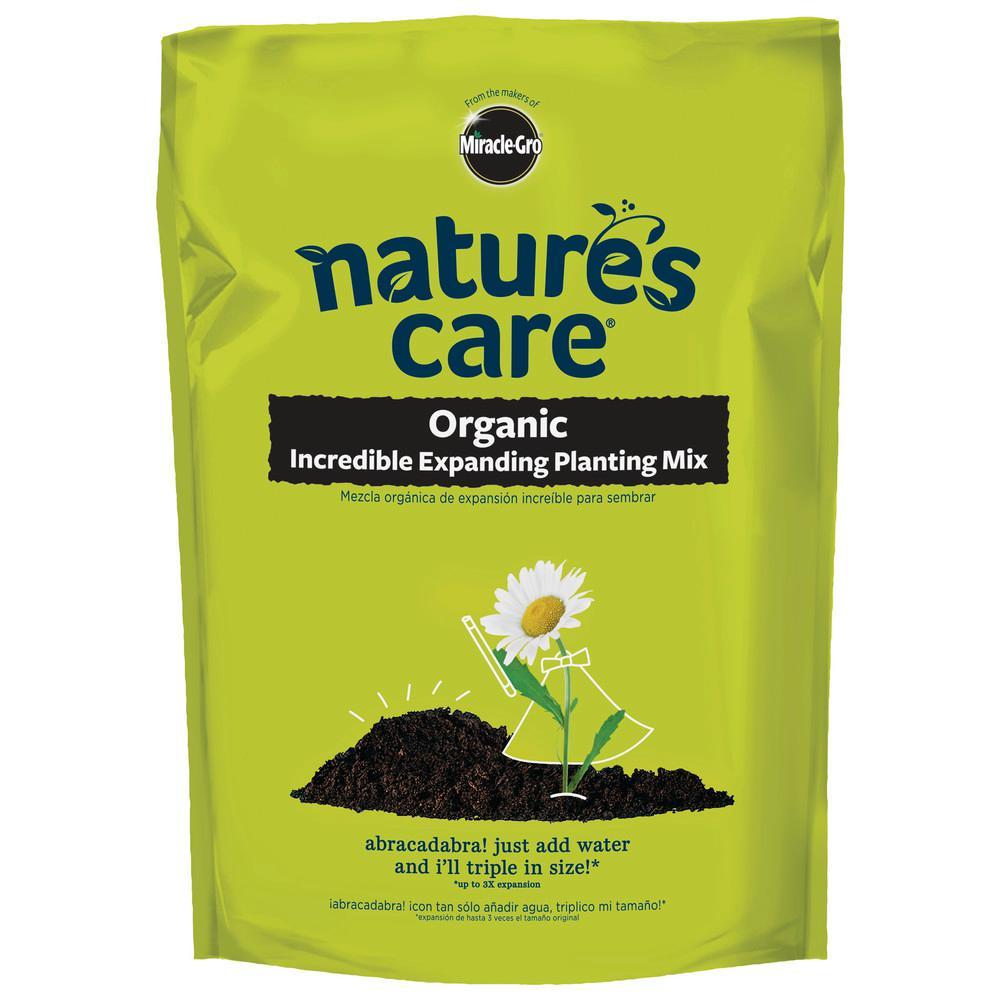 Natures Care Organic Incredible Expanding Planting Mix