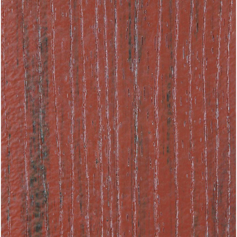 TimberTech 15/16 in. x 5.36 in. x 2 ft. Evolutions Capped Composite Decking Board Sample in Pacific Rosewood