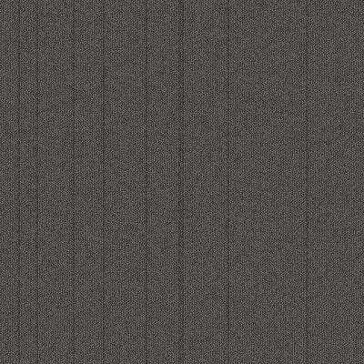 Fixed Attitude Pewter Patterned 24 in. x 24 in. Carpet Tile (24 Tiles/Case)