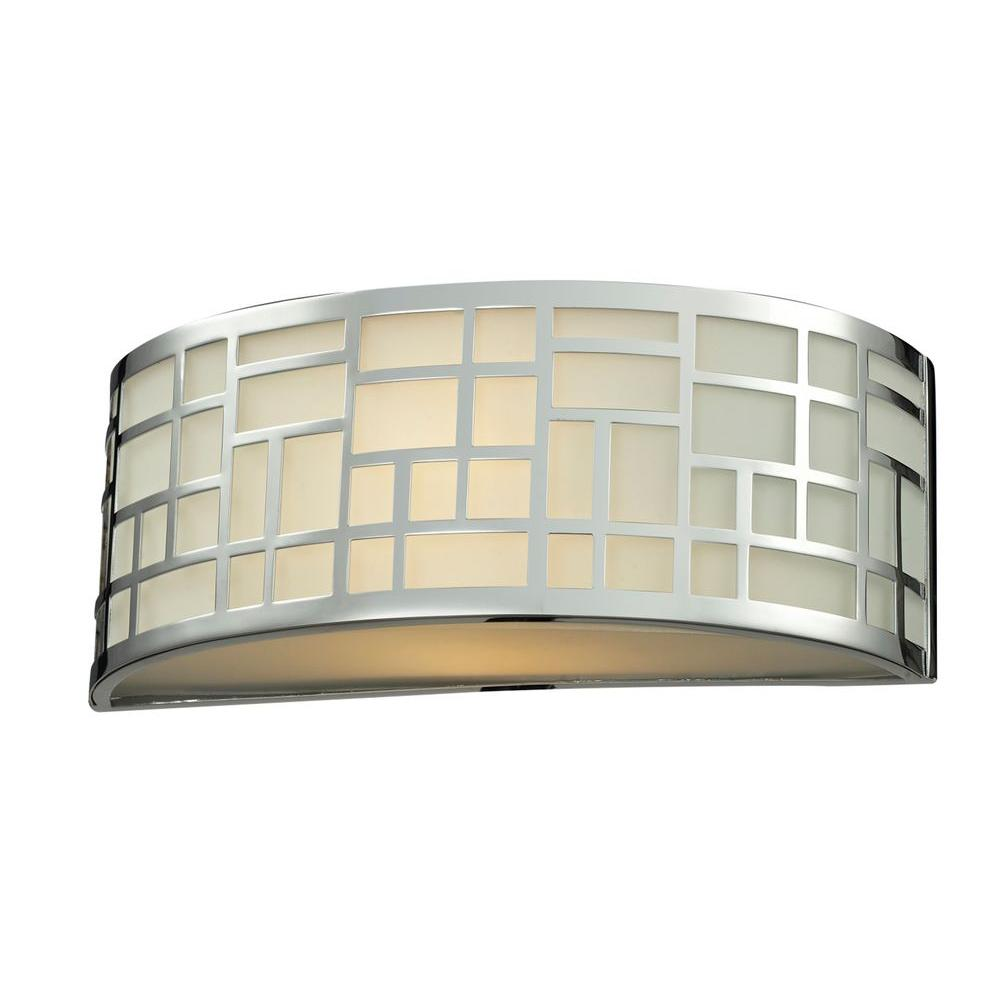 Velia 1-Light Chrome Sconce