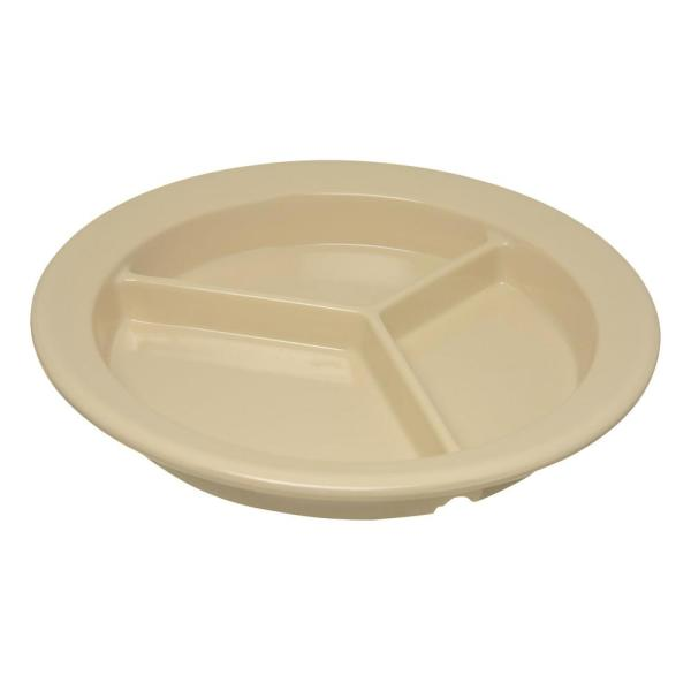 Carlisle Dallas Ware 10.25 in. Sunset Orange Melamine Dinner Plate (48-Pack)
