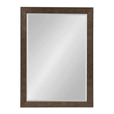 Coppell Rectangle Bronze Wall Mirror