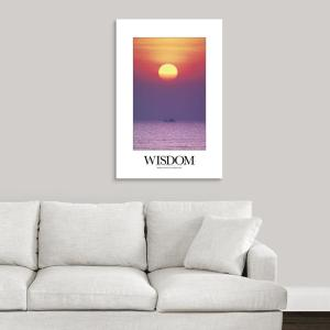 INSPIRATIONAL POSTER ~ AMBITION 24x36 The World Makes Way For Those Who Know