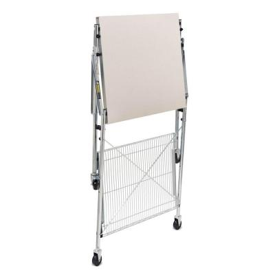 30 in. Stainless Steel Portable Folding Utility Table