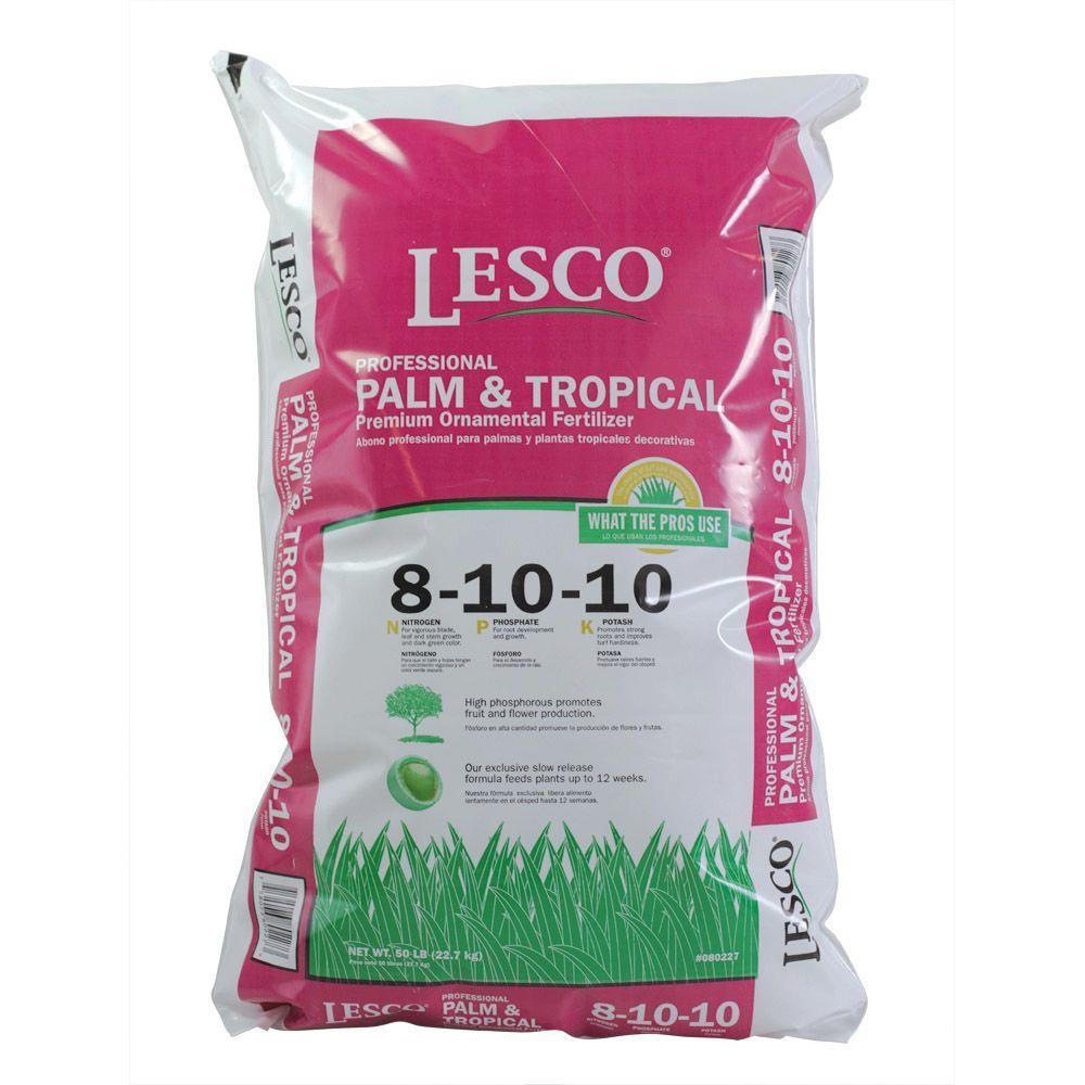 lesco copy 1 50 lbs 8 10 10 landscape and ornamental fertilizer