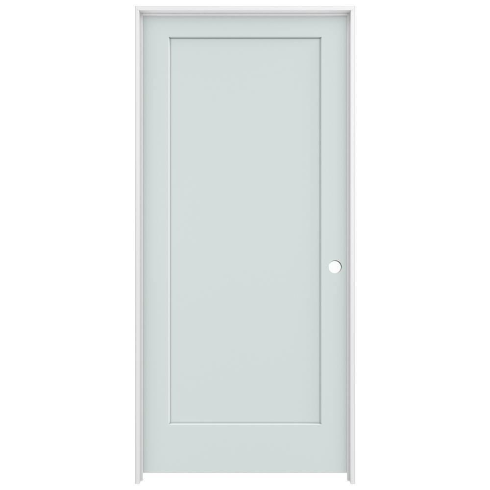 Jeld Wen 36 In X 80 In Madison Light Gray Left Hand