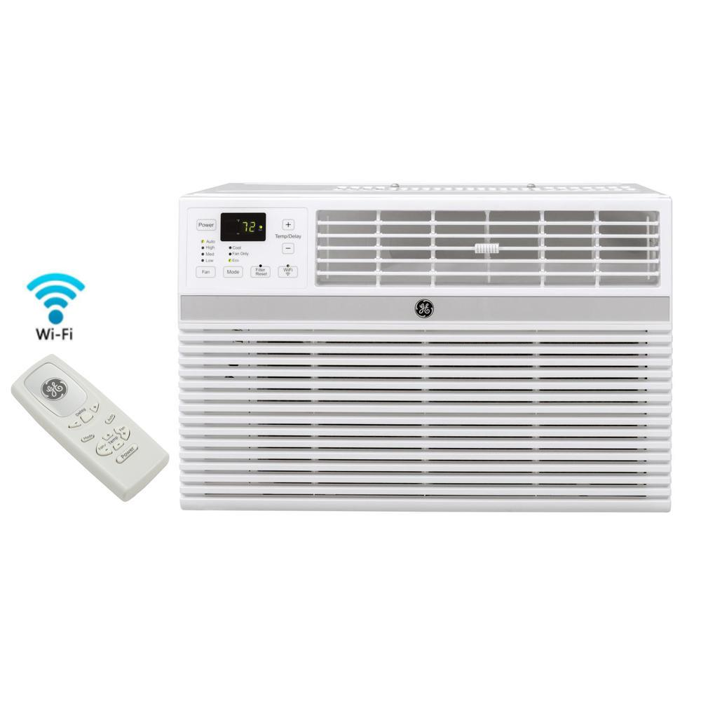 GE 12,000 BTU Energy Star Window Smart Room Air Conditioner with WiFi and Remote