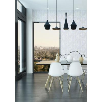 Nomad Collection Heart Breaker in Cloud Whites Removable and Repositionable Wallpaper