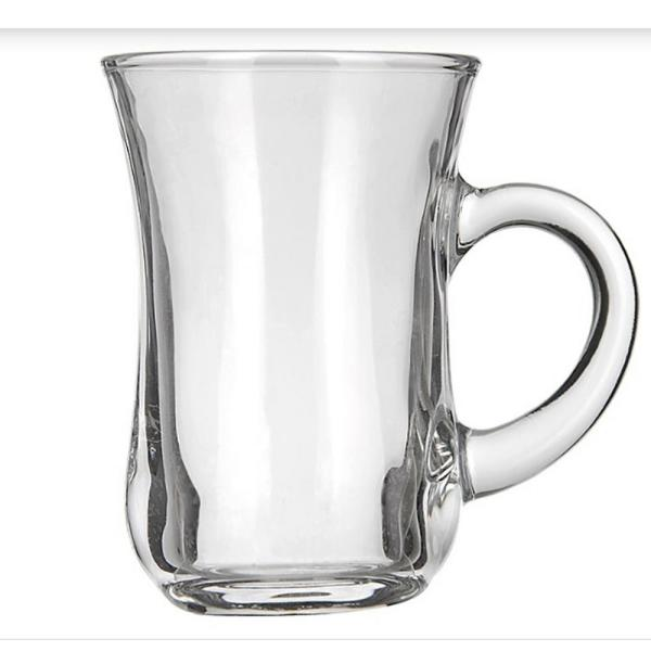 tea Irish Coffee Glass Mugs Footed 10.5 oz.Thick Wall Glass For Coffee Cappuccinos Mulled Ciders,Hot Chocolates Ice cream and More-Set of 12