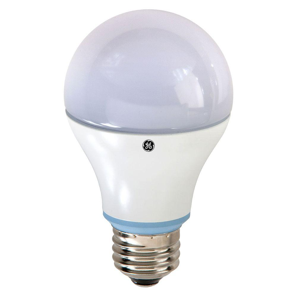 GE 40W Equivalent Reveal A19 Dimmable LED Light Bulb
