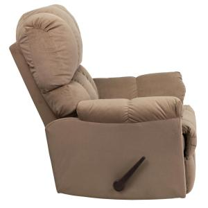 Internet #301745542. +2. Flash Furniture Contemporary Top Hat Coffee Microfiber Rocker Recliner  sc 1 st  The Home Depot & Flash Furniture Contemporary Top Hat Coffee Microfiber Rocker ... islam-shia.org