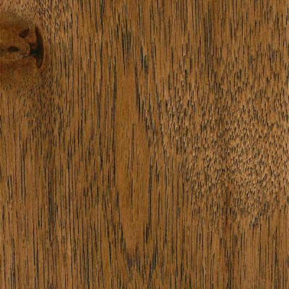 Take Home Sample Wire Brush Forest Trail Hickory Click Lock Hardwood Flooring 5 In