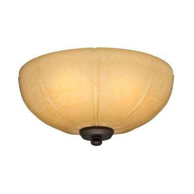 2.25 in. Aged Bronze CFL Ceiling Fan Bowl Fitter