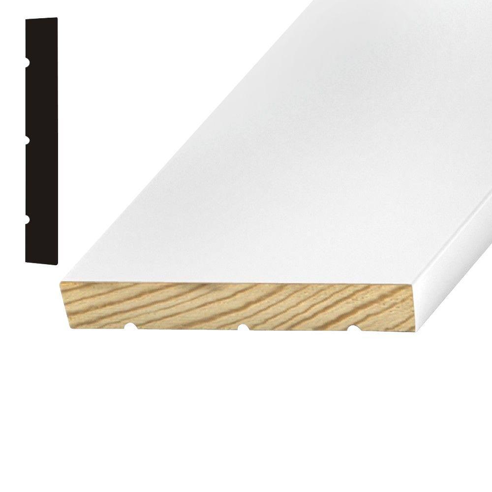 Kelleher 11/16 in. x 4-9/16 Primed Pine Door Jamb  sc 1 st  Home Depot & Kelleher 11/16 in. x 4-9/16 Primed Pine Door Jamb Moulding-P308PR ...