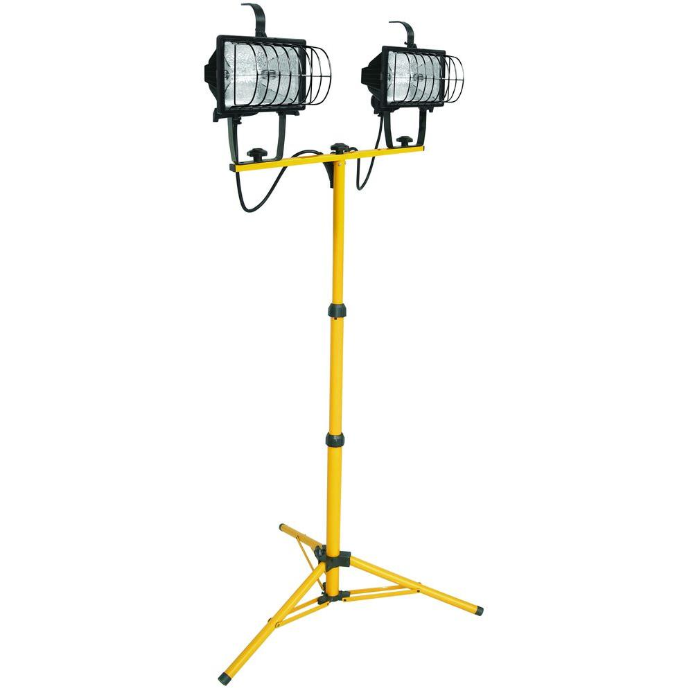 Plug In Flood Light Home Depot