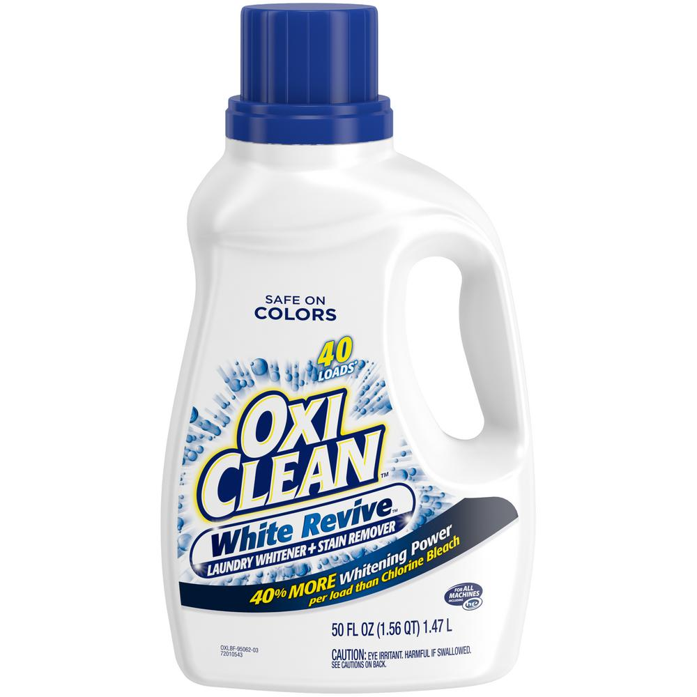 Oxiclean 50 Oz White Revive Liquid Additive 95062 The