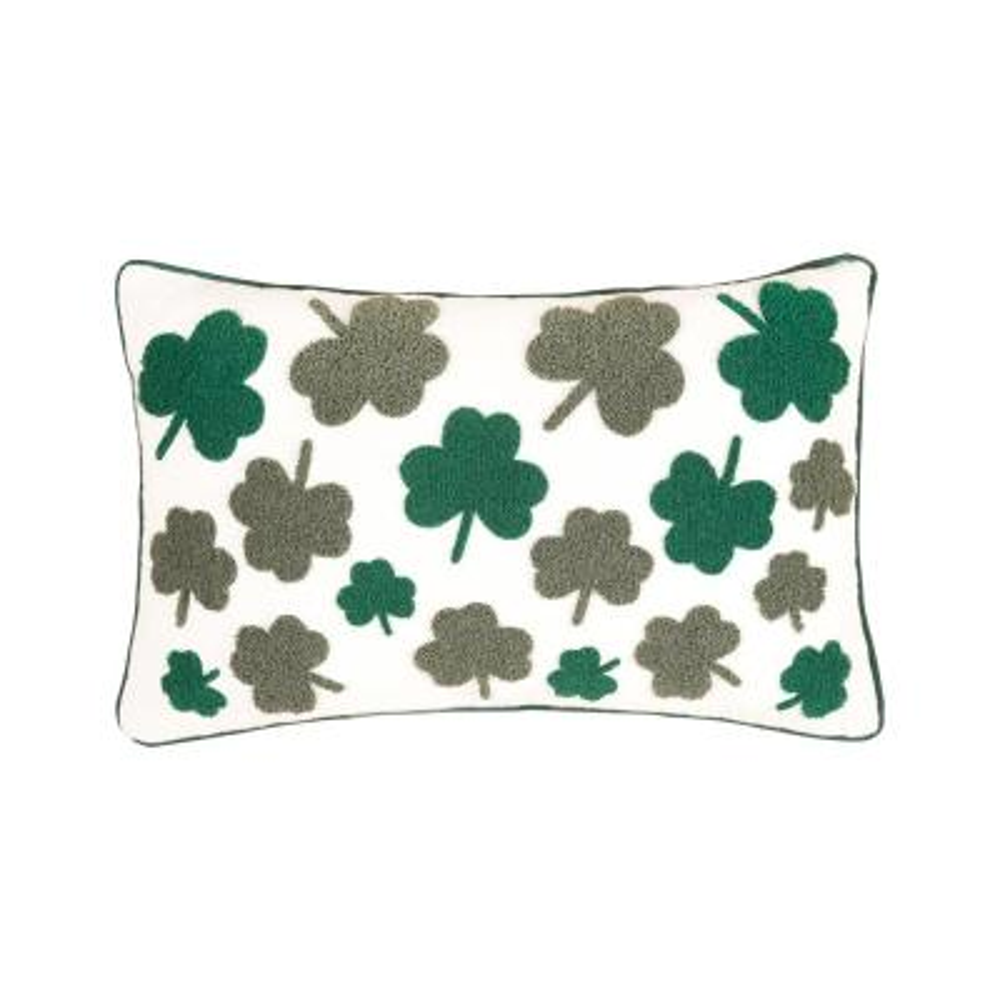 14 in. x 22 in. Irish Clover Pillow