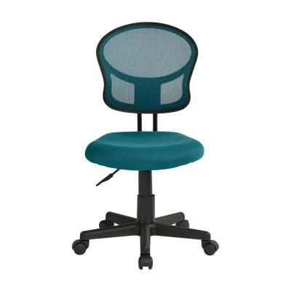 Mesh Blue Fabric Task Chair