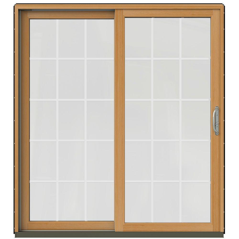Patio Door Cladding : In builders right hand aluminum clad sliding