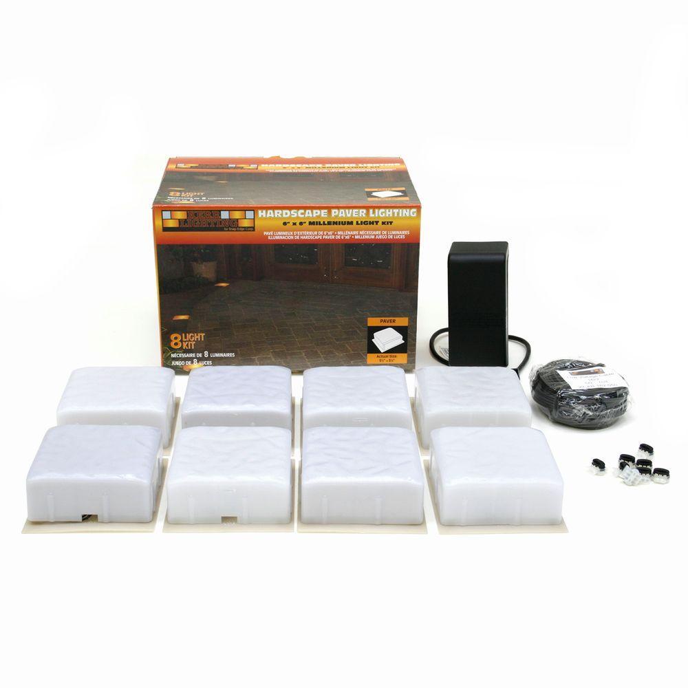 Hardscape Millennium Paver Light Kit (8-Pack)
