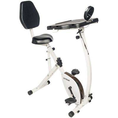 4010 FitDesk Recumbent Bike Desk with Tablet Holder
