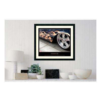 30.25 in. W x 27.13 in. H Ingenio' Printed Framed Wall Art